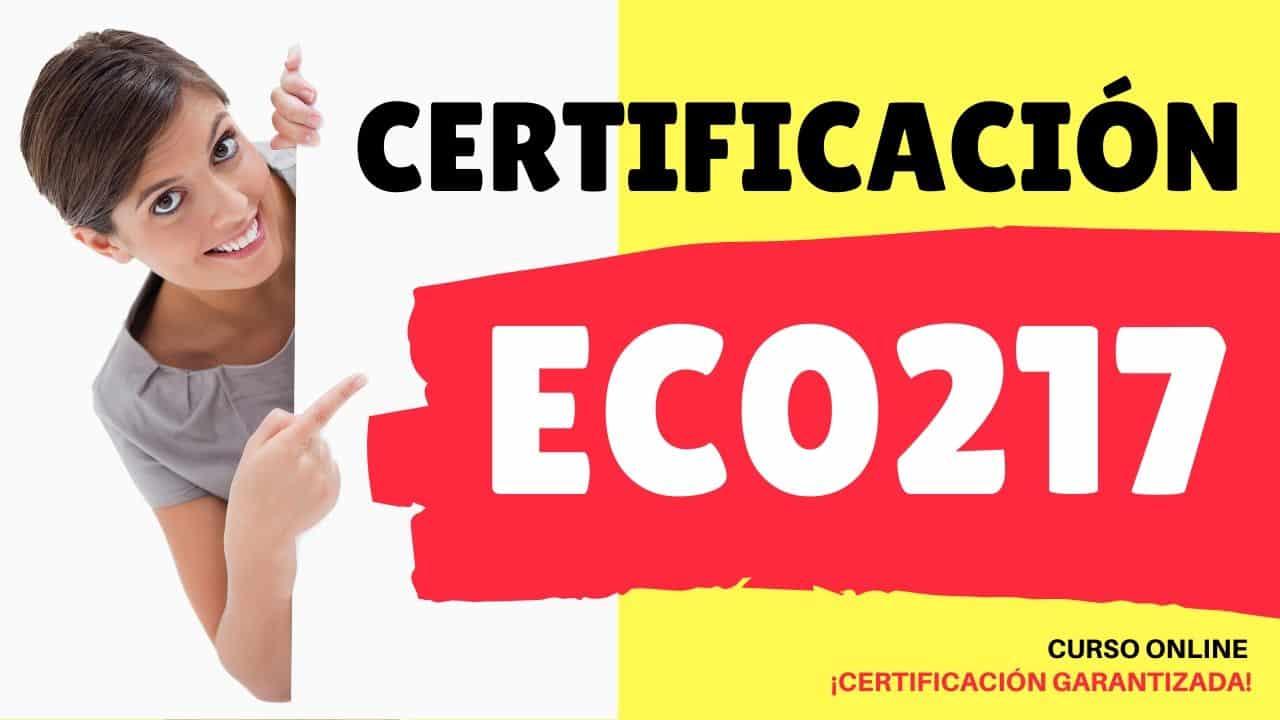 Certificación EC0217
