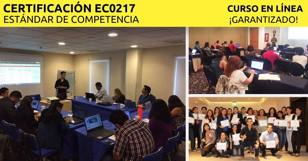 Doble Certificación EC0217 y EC0301