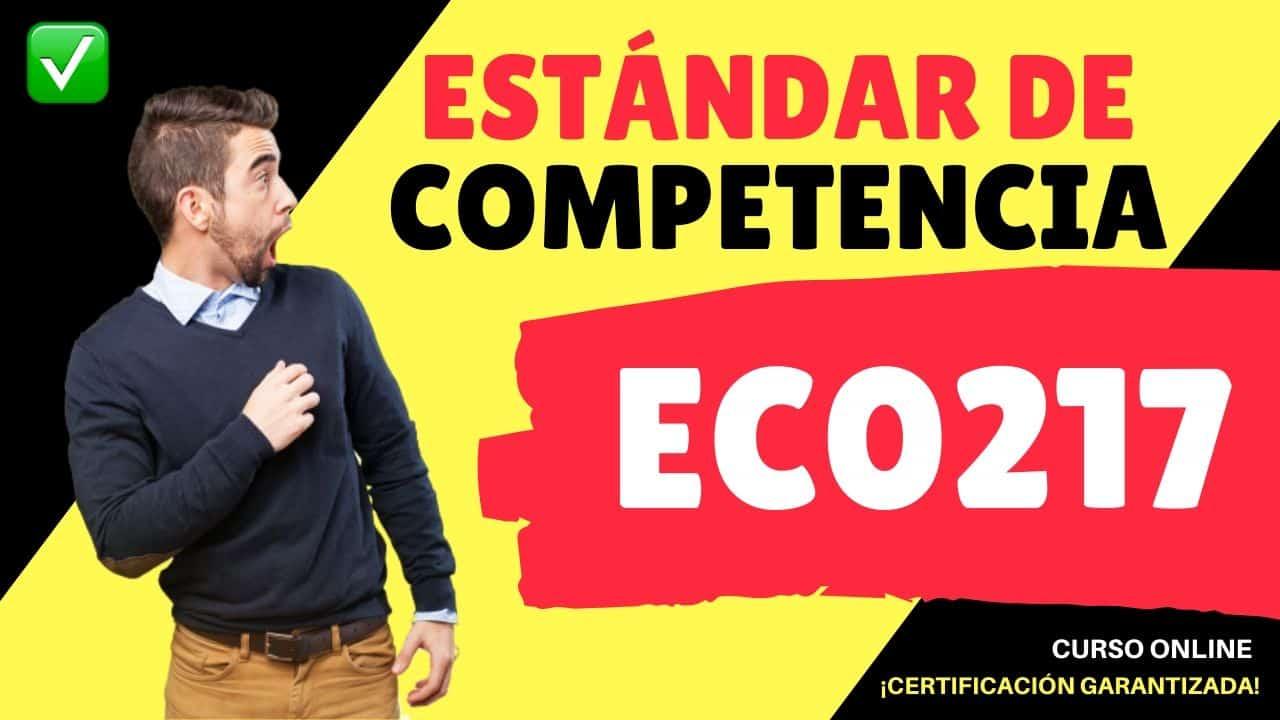 Estándar de Competencia EC0217