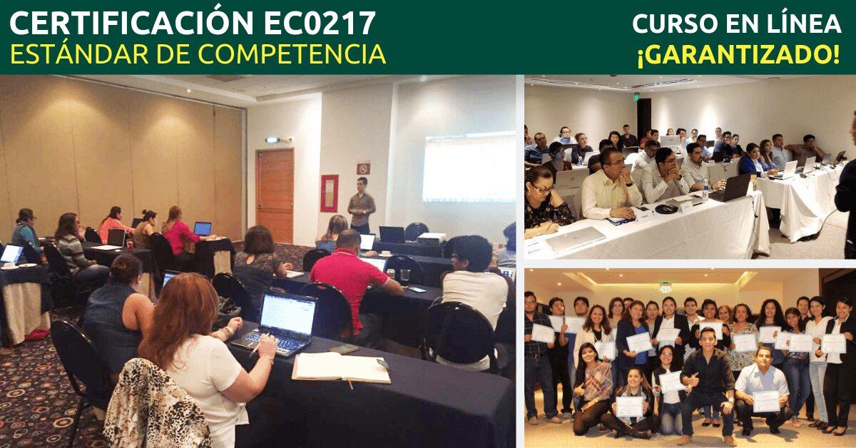 Estándar de Competencia EC0217 del CONOCER