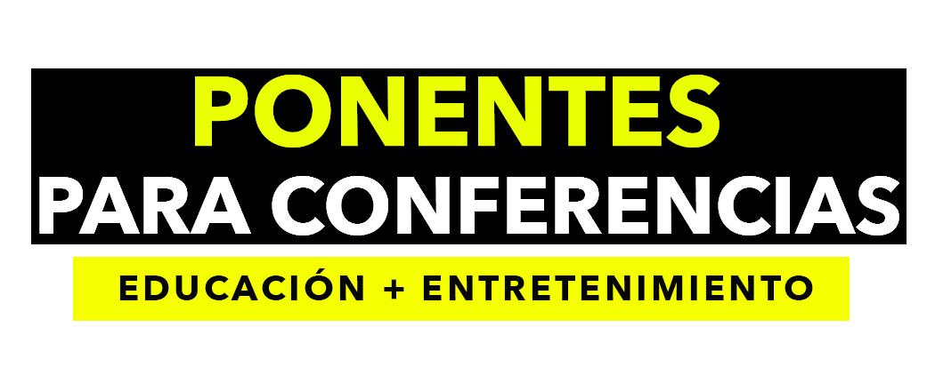Ponentes para Conferencias