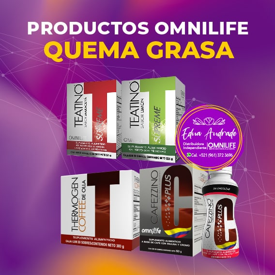 Productos Omnilife Quema Grasa