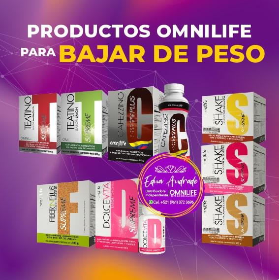 Productos Omnilife para Bajar de Peso