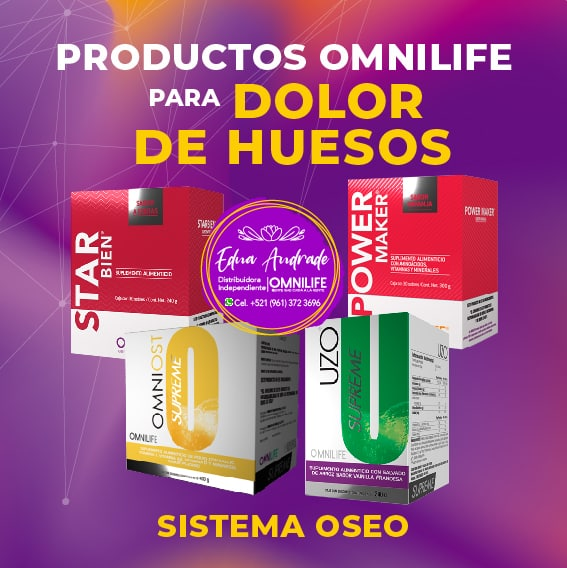 Productos Omnilife para Dolor de Huesos