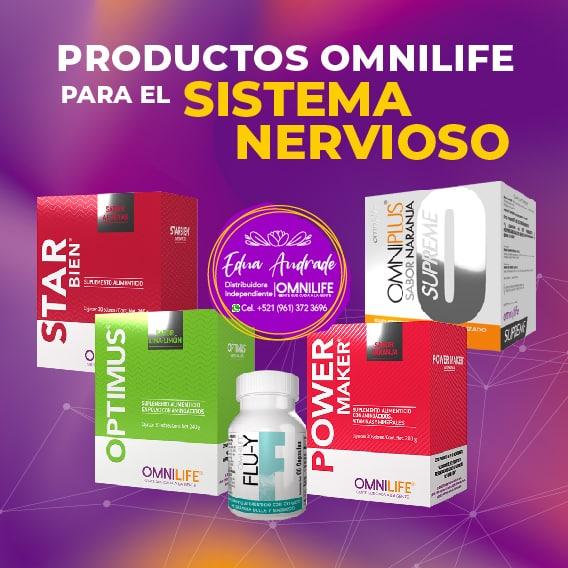 Productos Omnilife para el Sistema Nervioso