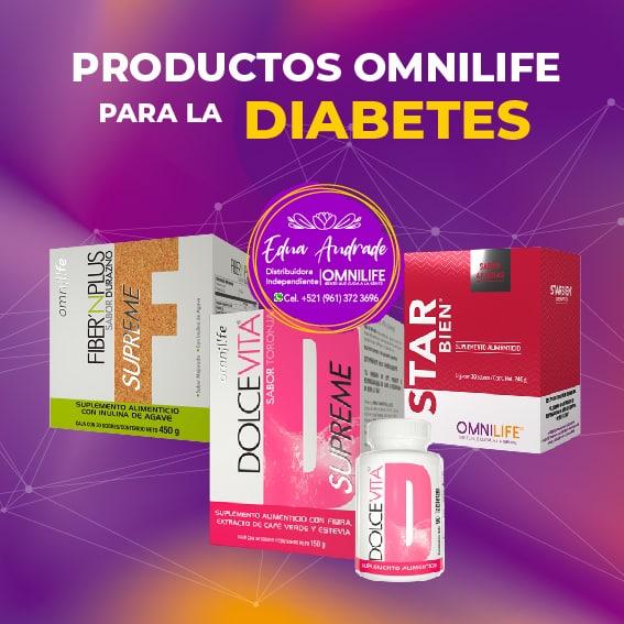 Productos Omnilife para la Diabetes