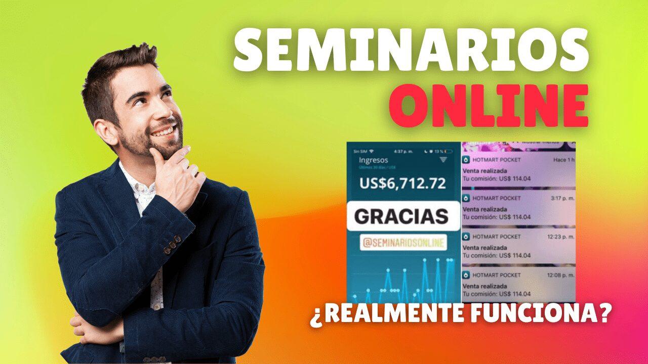 Seminarios Online Hotmart y Mauricio Duque