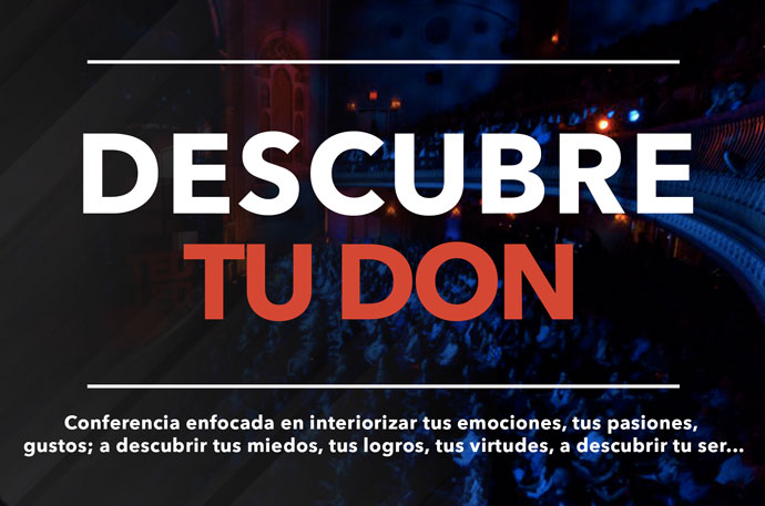 Descubre tu Don Conferencia