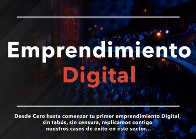 Emprendimiento Digital Conferencia para Jovenes